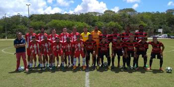 0641df4a04 Time da FTC realizou jogo treino contra equipe do Vitória Sub-20 ...